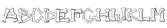 4 DOGS Font UPPERCASE