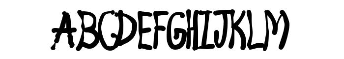 4 Star Face Font Font UPPERCASE