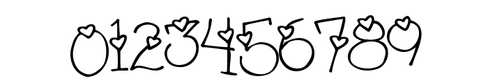 4 my lover Font OTHER CHARS