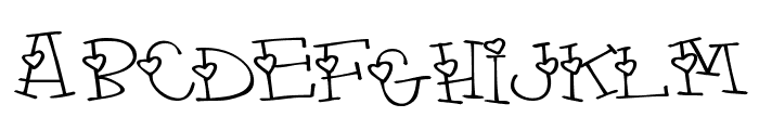 4 my lover Font LOWERCASE