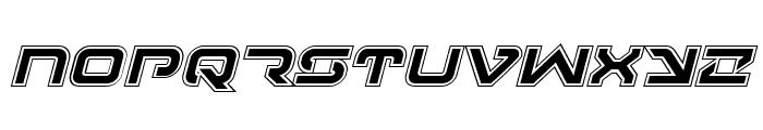 4114 Blaster Academy Italic Font LOWERCASE