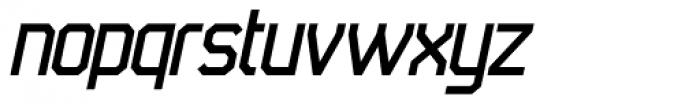 45 Degrees Italic Font LOWERCASE