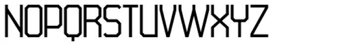 45 Degrees Light Font UPPERCASE