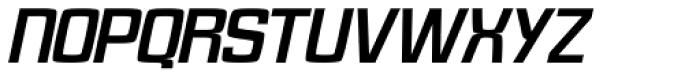 4square Italic Font UPPERCASE