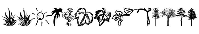 4YEOgarden Font UPPERCASE