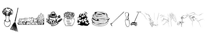 4YEOgarden Font LOWERCASE