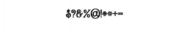 5 Fonts Bundle 3 Font OTHER CHARS