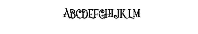 5 Fonts Bundle 3 Font UPPERCASE