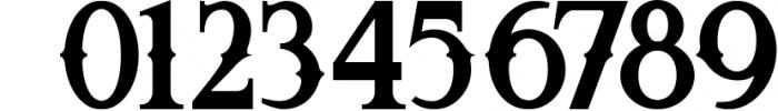 5 Fonts Bundle 1 11 Font OTHER CHARS
