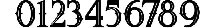 5 Fonts Bundle 1 16 Font OTHER CHARS
