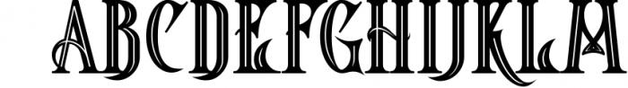 5 Fonts Bundle 1 16 Font LOWERCASE
