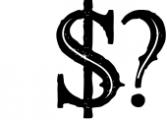 5 Fonts Bundle 1 17 Font OTHER CHARS