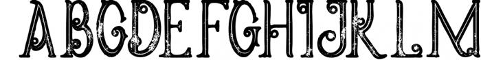 5 Fonts Bundle 1 18 Font UPPERCASE