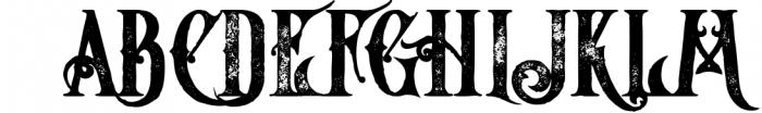 5 Fonts Bundle 1 19 Font UPPERCASE