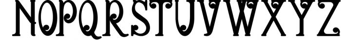 5 Fonts Bundle 1 4 Font UPPERCASE