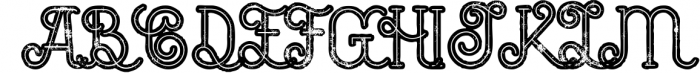5 Fonts Bundle 1 9 Font UPPERCASE