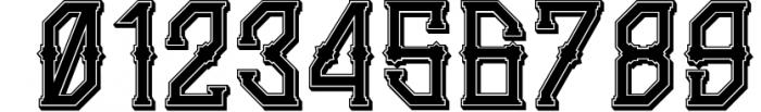 5 Typeface vintage bundle 2 Font OTHER CHARS