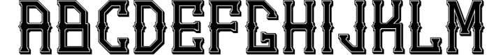 5 Typeface vintage bundle 2 Font UPPERCASE