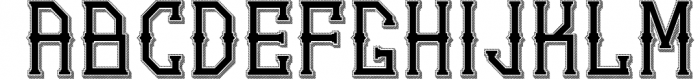 5 Typeface vintage bundle 3 Font UPPERCASE
