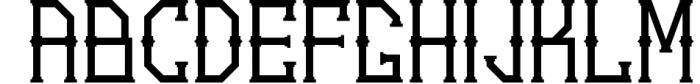 5 Typeface vintage bundle 4 Font UPPERCASE