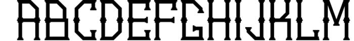 5 Typeface vintage bundle 4 Font LOWERCASE