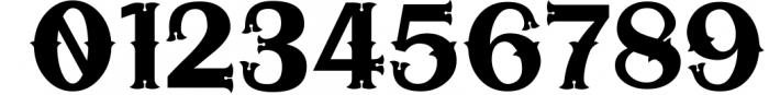 5 Typeface vintage bundle 5 Font OTHER CHARS