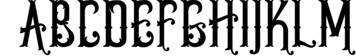 5 Typeface vintage bundle 7 Font UPPERCASE
