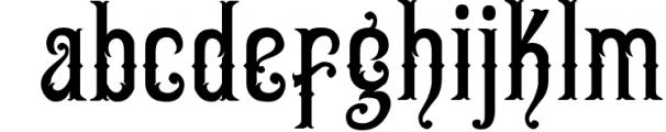 5 Typeface vintage bundle 7 Font LOWERCASE