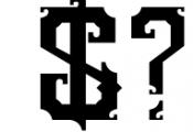 5 Typeface vintage bundle Font OTHER CHARS