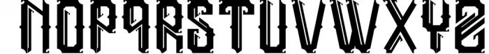 5 Typeface vintage bundle Font UPPERCASE