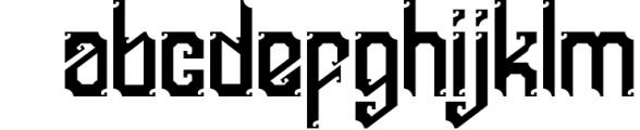 5 Typeface vintage bundle Font LOWERCASE