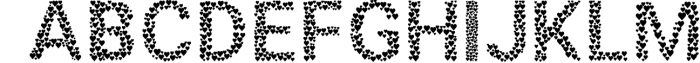 5 in 1 Font Bundle Vol. 1 5 Font UPPERCASE