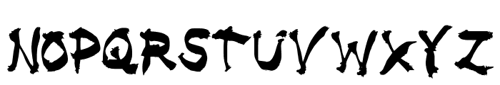 5 Finger Death Punch Font UPPERCASE