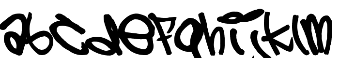 5 cent Font LOWERCASE