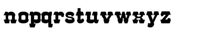 57 Rodeo Regular Regular Font LOWERCASE