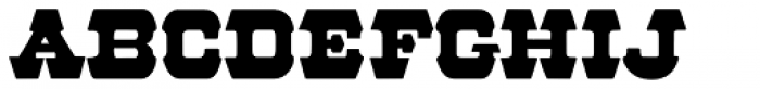 57 Rodeo Font UPPERCASE