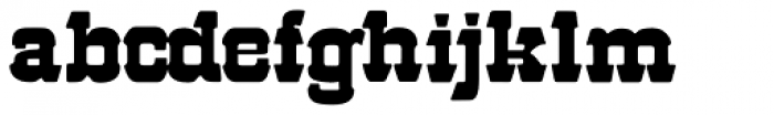 57 Rodeo Font LOWERCASE