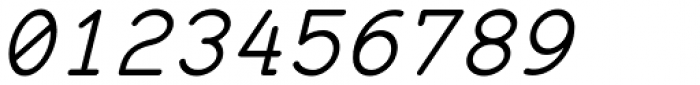 57-nao Regular Oblique Font OTHER CHARS