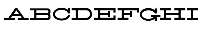 58 Rodeo Regular Font UPPERCASE