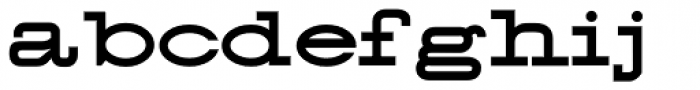 58 Rodeo Font LOWERCASE