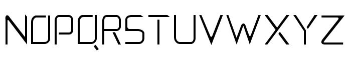 5E Font UPPERCASE