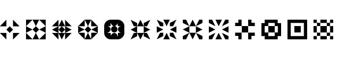 5Geomedings Regular Font UPPERCASE