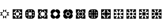 5Geomedings Regular Font LOWERCASE