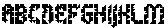 5Metrik Bold Alien Regular Font UPPERCASE
