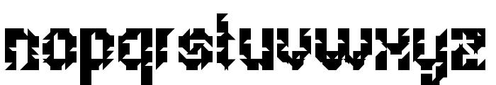 5Metrik Bold Alien Regular Font LOWERCASE