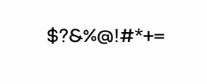 5NeutralGrotesk-Normal.ttf Font OTHER CHARS