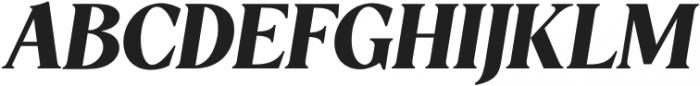 5th Avenue - Italic Italic otf (400) Font UPPERCASE