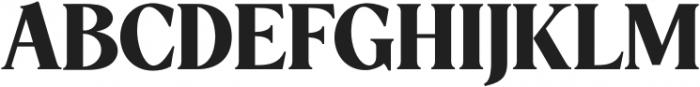 5th Avenue Regular otf (400) Font UPPERCASE