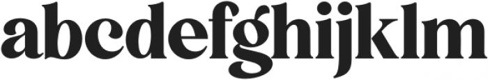 5th Avenue Regular otf (400) Font LOWERCASE