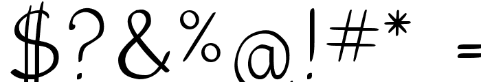 5th Grade Cursive Font OTHER CHARS